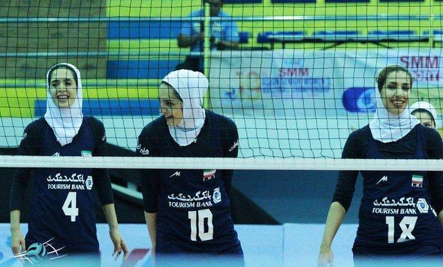 دومین پیروزی تیم ملی والیبال بانوان در رقابت های قهرمانی آسیا
