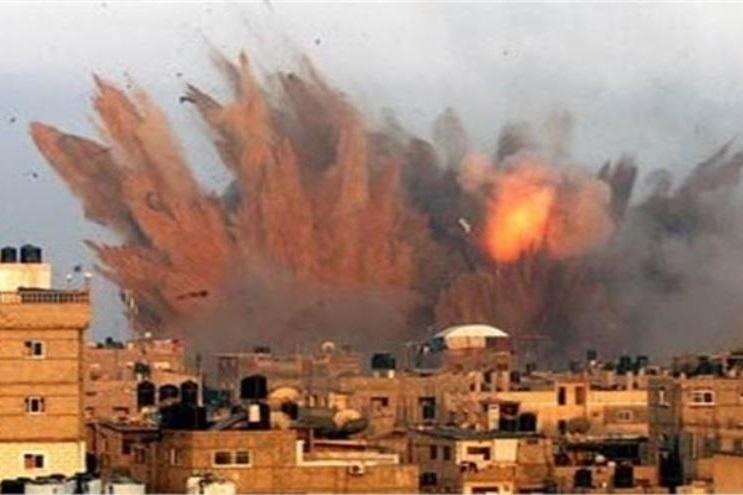 حمله متجاوزان سعودی به شهر حیس یمن