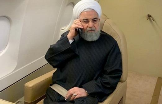 تماس تلفنی رئیس جمهور با استانداران خوزستان و سیستان و بلوچستان