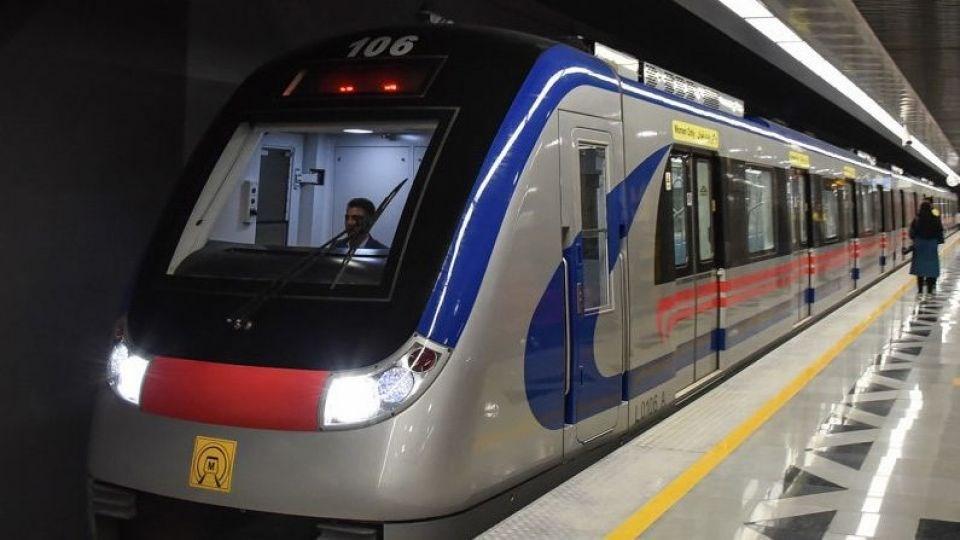 تعداد سرویس های مترو به یک سوم کاهش یافت، تعطیلی مترو هشتگرد