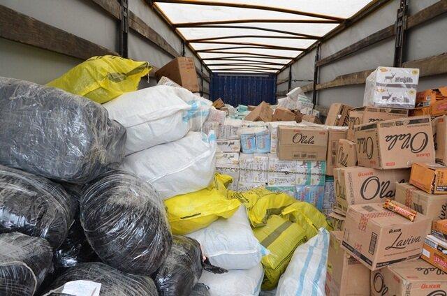 کشف 100 تن ذرت خارجی قاچاق در شهرستان الیگودرز