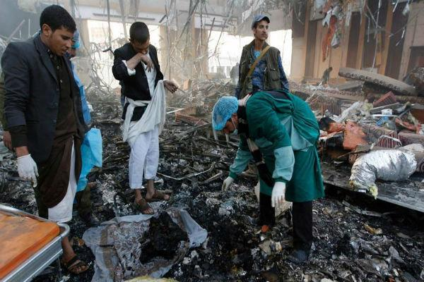 جنگنده های سعودی الجوف و مأرب یمن را بمباران کردند