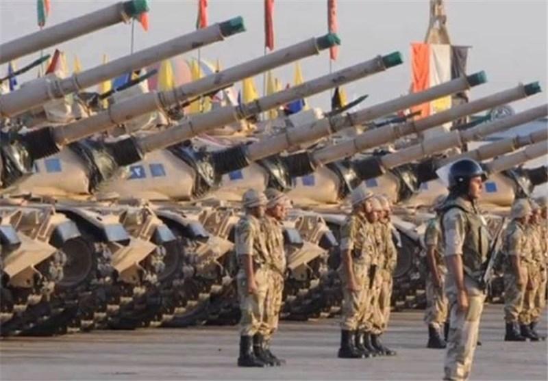 رزمایش نظامی ارتش مصر در مرز مشترک با لیبی