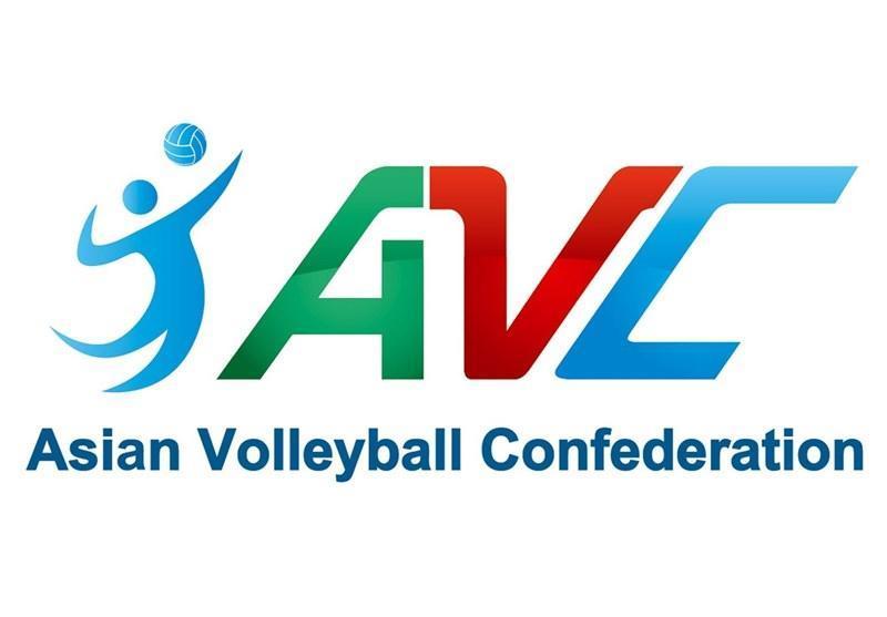 اعلام پیش نویس برنامه مسابقات کنفدراسیون والیبال آسیا برای سال 2021