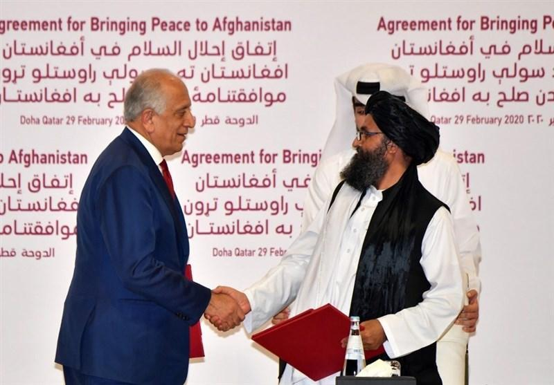 واکنش طالبان: نقش آمریکا در صلح مشکوک است، اشرف غنی مانع مذاکرات بین الافغانی می گردد
