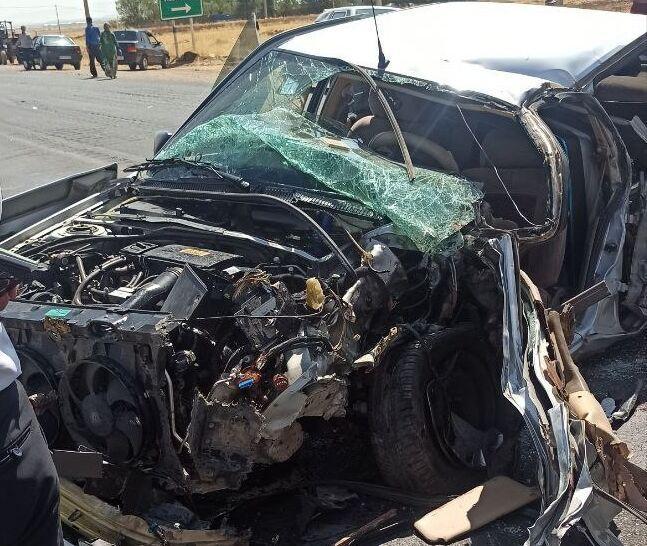 خبرنگاران تصادف در جاده روانسر به کرمانشاه 2 کشته بر جا گذاشت