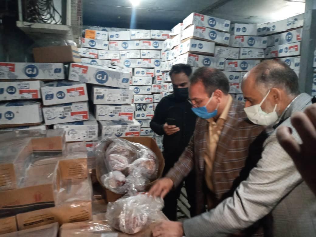 بیش از 30 تن گوشت فاسد در کهریزک کشف شد