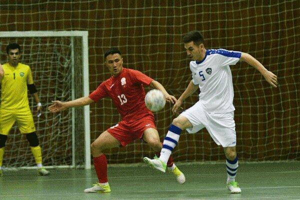 پیروزی تیم ملی فوتسال ازبکستان مقابل قرقیزستان
