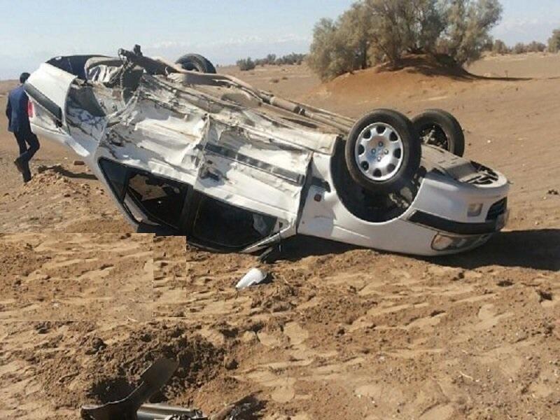 واژگونی 2 خودرو در استان سمنان یک کشته و 3 مصدوم برجا گذاشت