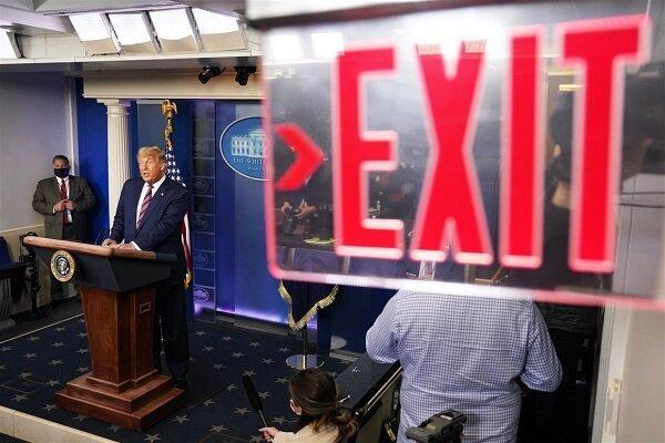 تغییر رسمی مهره ها در کاخ سفید، سرانجام تلخ ترامپ