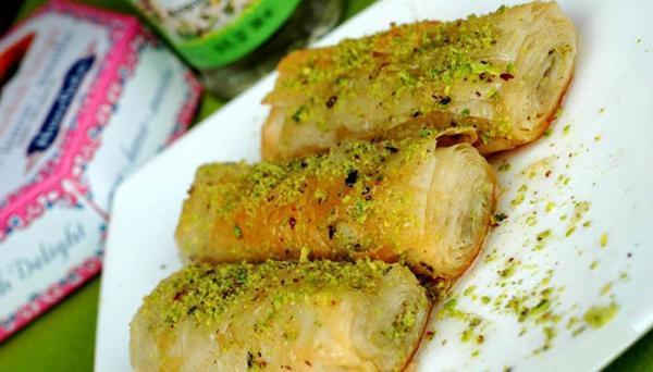 طرز تهیه باقلوا با خمیر یوفکا در منزل