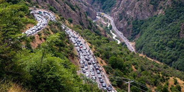 رئیس پلیس راه مازندران: محور های شمال پرترافیک شد