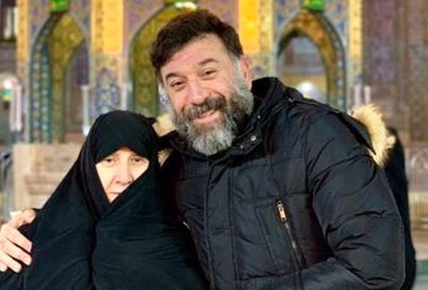 حال مادر علی انصاریان خوب نیست خبرنگاران