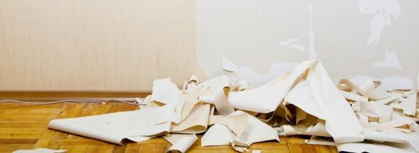 کندن کاغذ دیواری از دیوار به 2 روش آسان و کاربردی