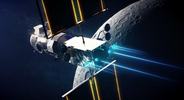 تصاویری خیره کننده از ایستگاه فضایی دروازه ماه