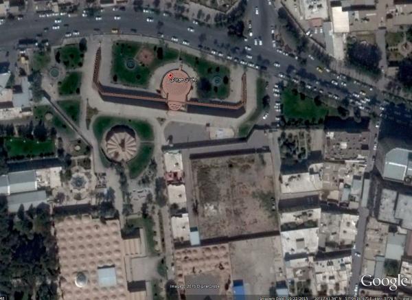 یخدان موئدی از آثار تاریخی و جاذبه دیدنی کرمان، عکس