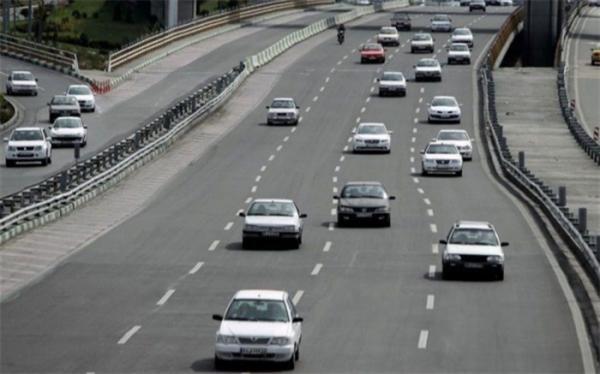 ترافیک روان در جاده های کشور