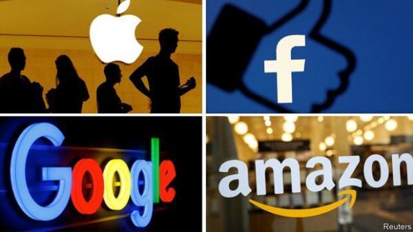 گوگل، آمازون، فیس بوک و اپل بر لبه پرتگاه تجزیه
